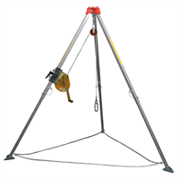 AccSafe TM-9 Safety Tripod With Chain & Webbing