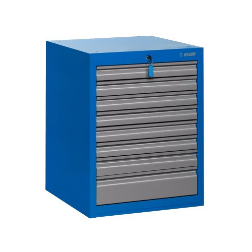 UNIOR Tool chest wide - 8 drawers - 990WD8