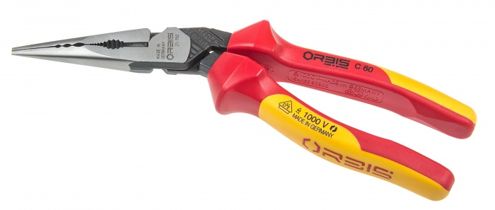 ORBIS 9″ 1000 Volt VDE HD Long Nose Pliers