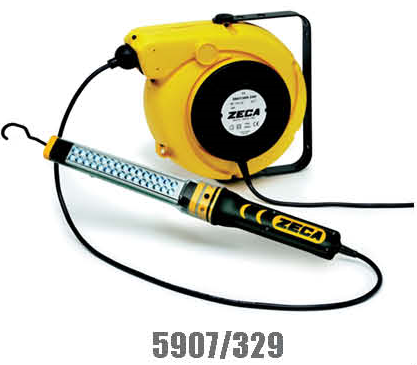 Zeca/Italy Cable Reel With LED Lamp (230V) 14mtr+1.5mtr