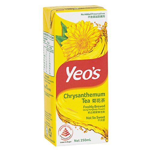 Yeo's Chrysanthemum Drinks 250 Ml 24 Pack