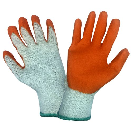 Orex Rubber Coated Cotton Gloves