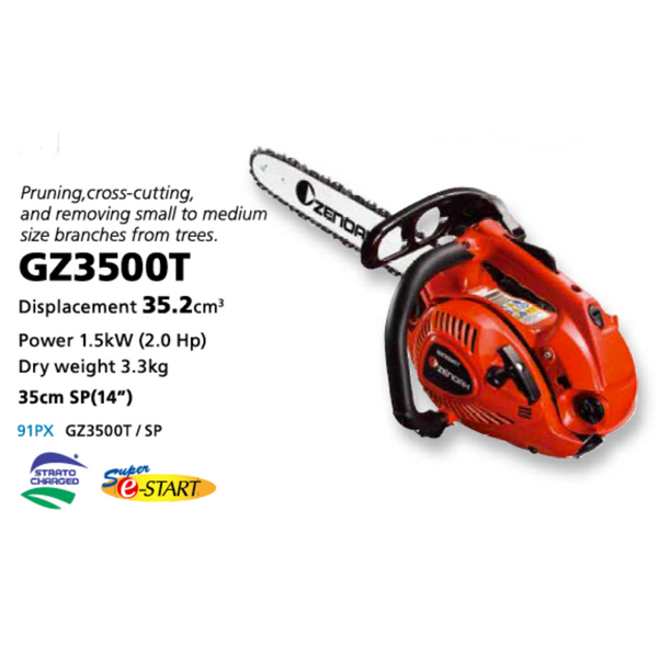 Zenoah Top-handle Chainsaw 14