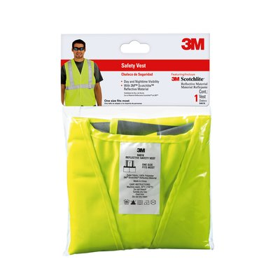 3M Safety Vest Yellow 8906