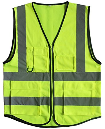 EP Safety Vest with Front Pockets 214
