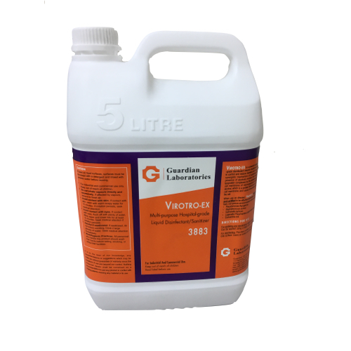 Guardian Liquid Disinfectant and Sanitizer Virotro-EX3883