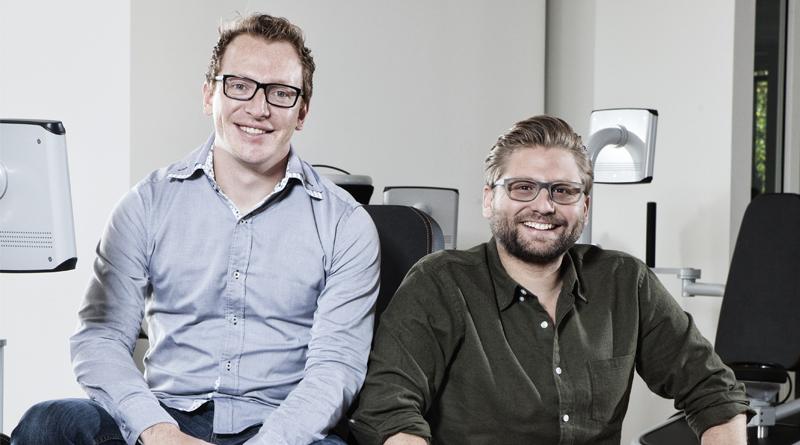 Florian Sauter and Philipp Rösch-Schlanderer - founders of eGym