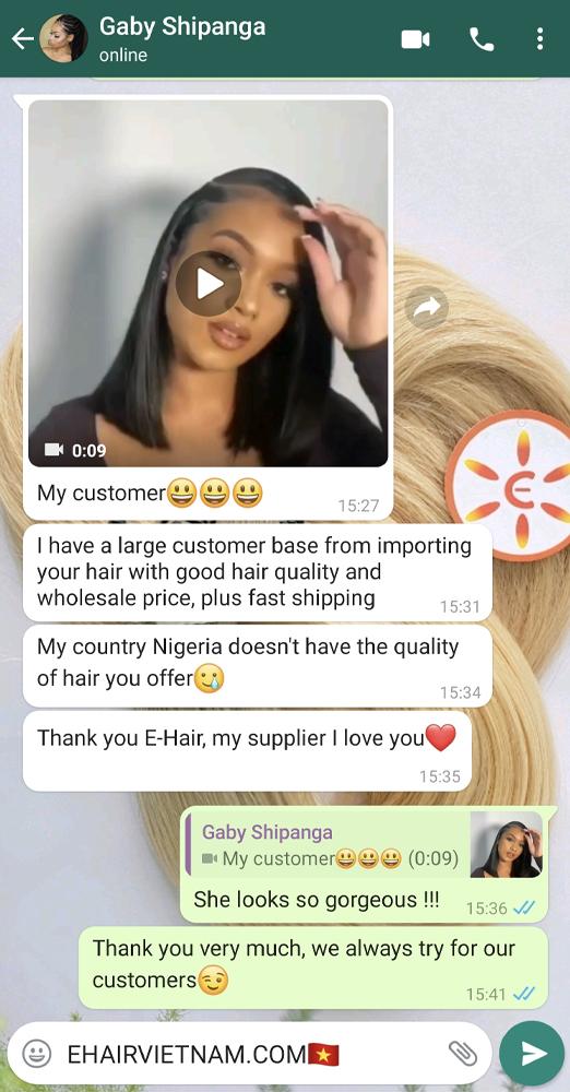 ehairvietnam feedback so good, good is ok and price is ok too