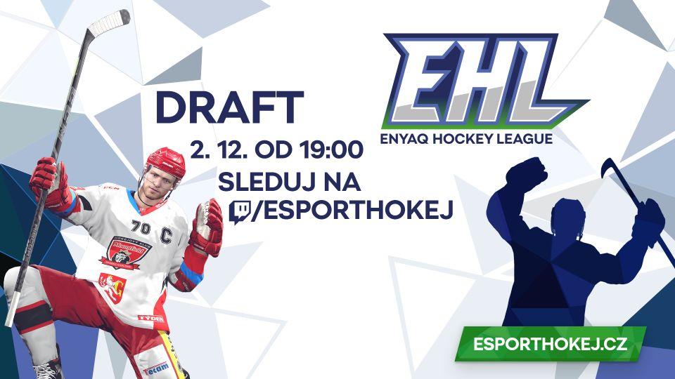 Sleduj draft ENYAQ Hokejové ligy!