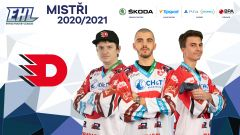 Pardubice jsou mistry EHL 2020/2021