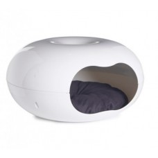Moderna-Doonut-Cat-BedCave-W-Cushion-and-Plastic-Bed--Pet-Kiosk.jpg