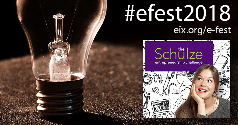 <mark>Schulze</mark> Entrepreneurship Challenge Highlights e-Fest® 2018