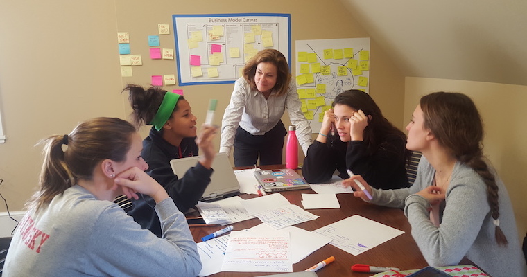A Lean Startup Approach to Engaging High School Students