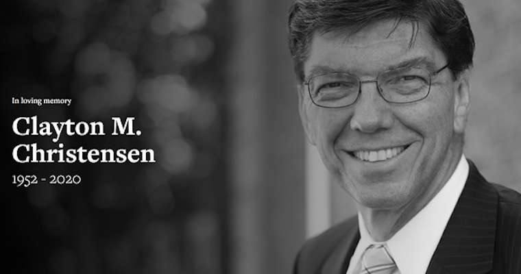 Remembering Clay Christensen