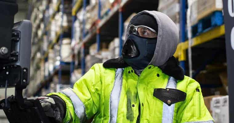 Breathing easier with the Orindi Cold Endurance Mask