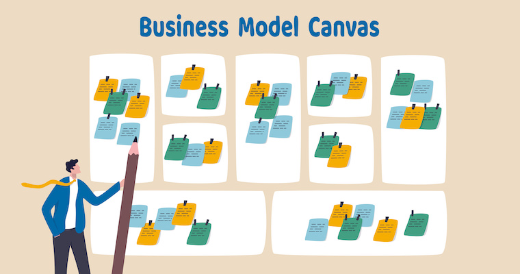The Story Behind the Business Model Canvas