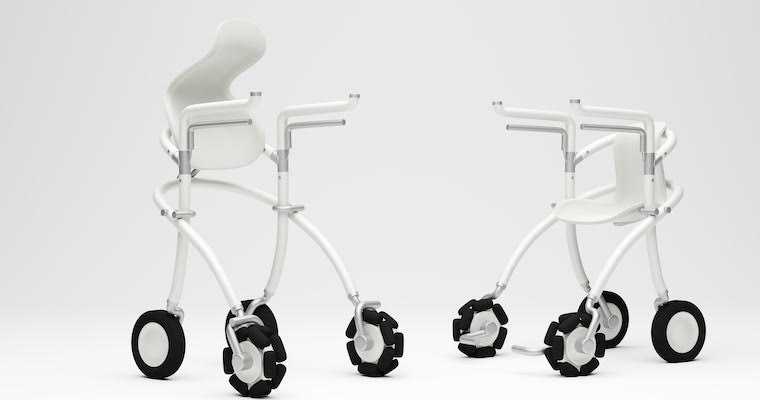 Student Innovators Give the Walker a Fresh Spin