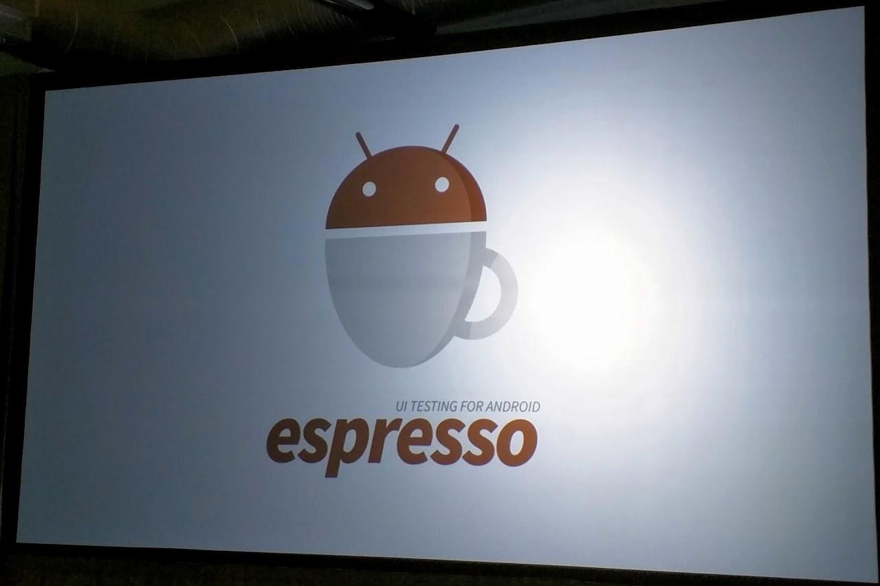 android espresso