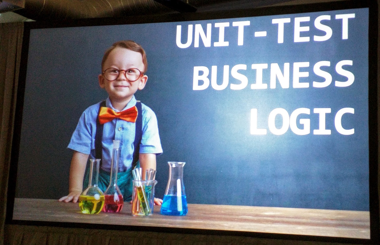 unit test business logic