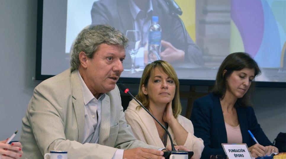 Federico Recagno aseguró que hay que fomentar la participación para lograr el fortalecimiento democrático.