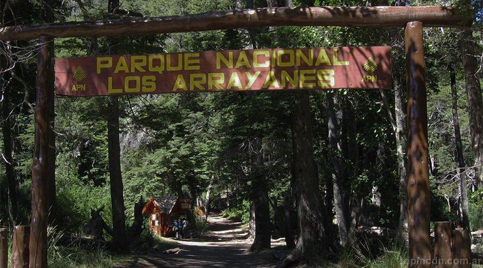 Los senderos del Parque Nacional Arrayanes no están adaptados para personas con discapacidad.