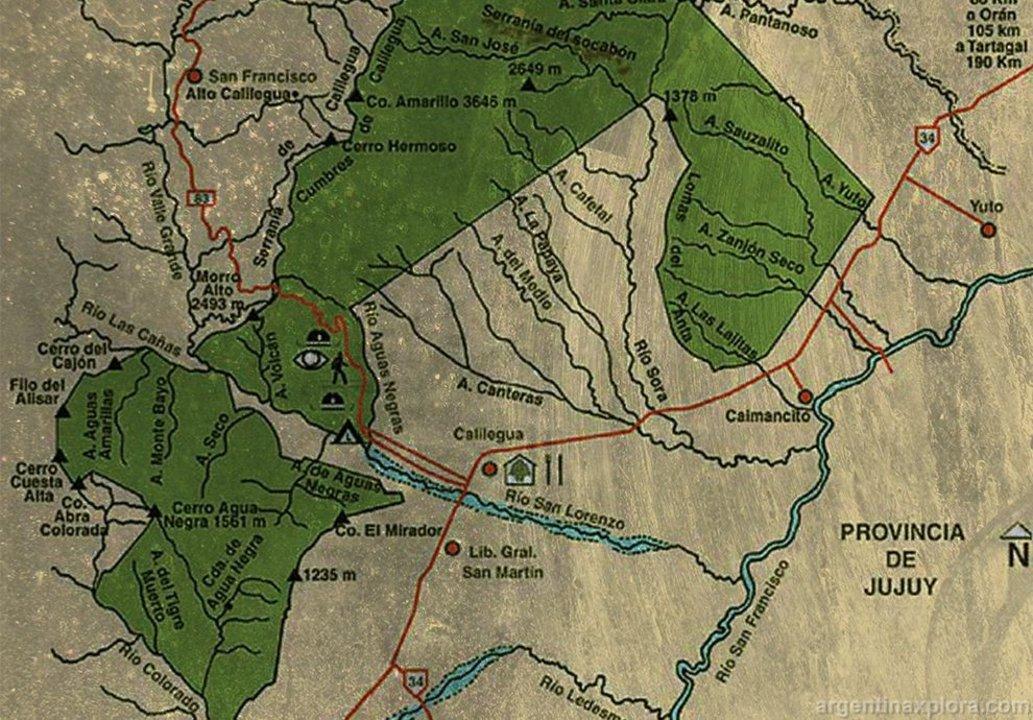 Cuando se creó el Parque Nacional Calilegua se expulsóa los pobladores originarios.