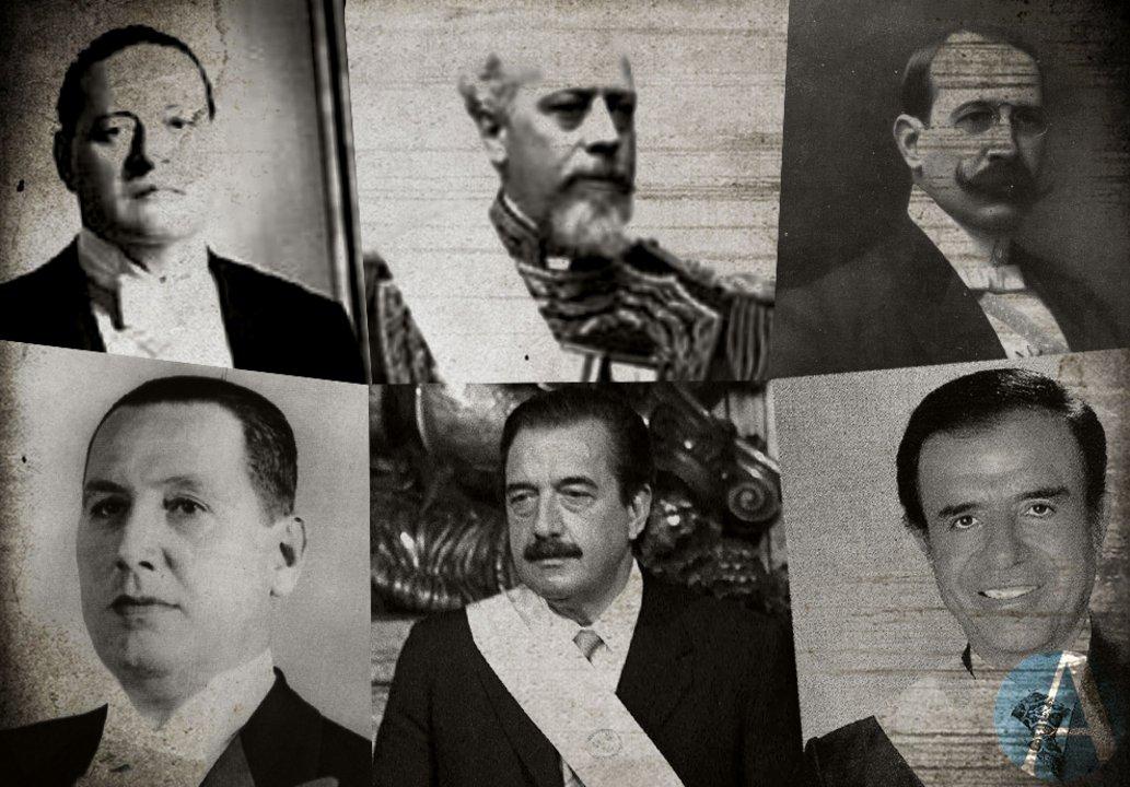 Presidentes: a Ortíz le tocó aprobar cuentas de inversión con 37 años de atraso. Roca no presentó cuatro informes. En 1907, Figueroa Alcorta revisó gastos de 1885. En el primer peronismo se aprobaron 28 resúmenes. Alfosin y Menem rechazaron las rendiciones de las dictaduras.