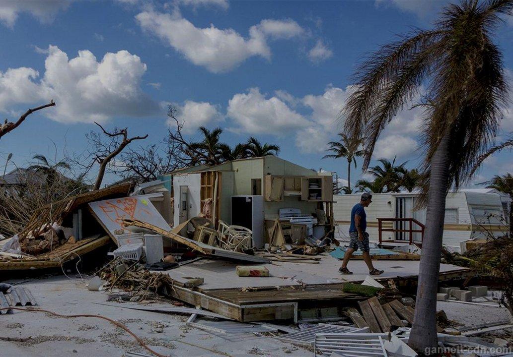 El huracán Irma golpeó gran parte de Estados Unidos.