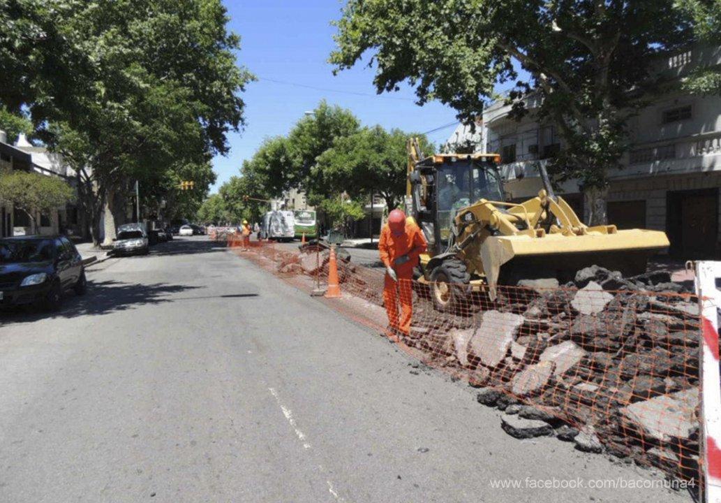 Una de las áreas evaluada fue el Mantenimiento urbano de las vías.