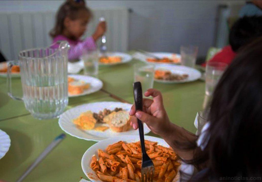 En ocho escuelas hubo un déficit de ingredientes mayor al 50%.