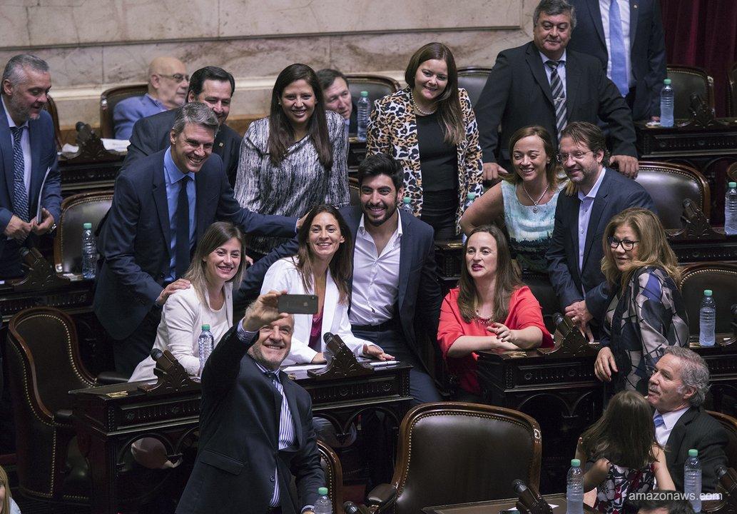 Las preguntas fueron del bloque del Federal Unidos por una Nueva Argentina (Foto de la jura de los nuevos diputados)