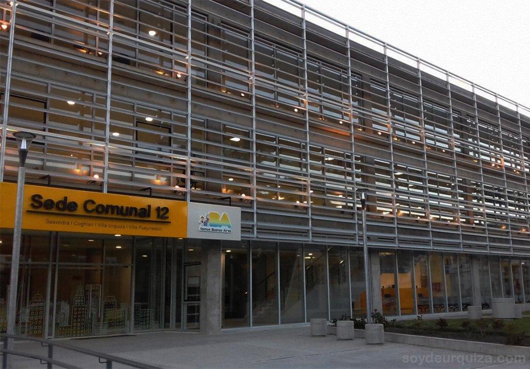 La sede comunal 12 era una de las obras que ya estaba ejecutada al momento de la auditoría.