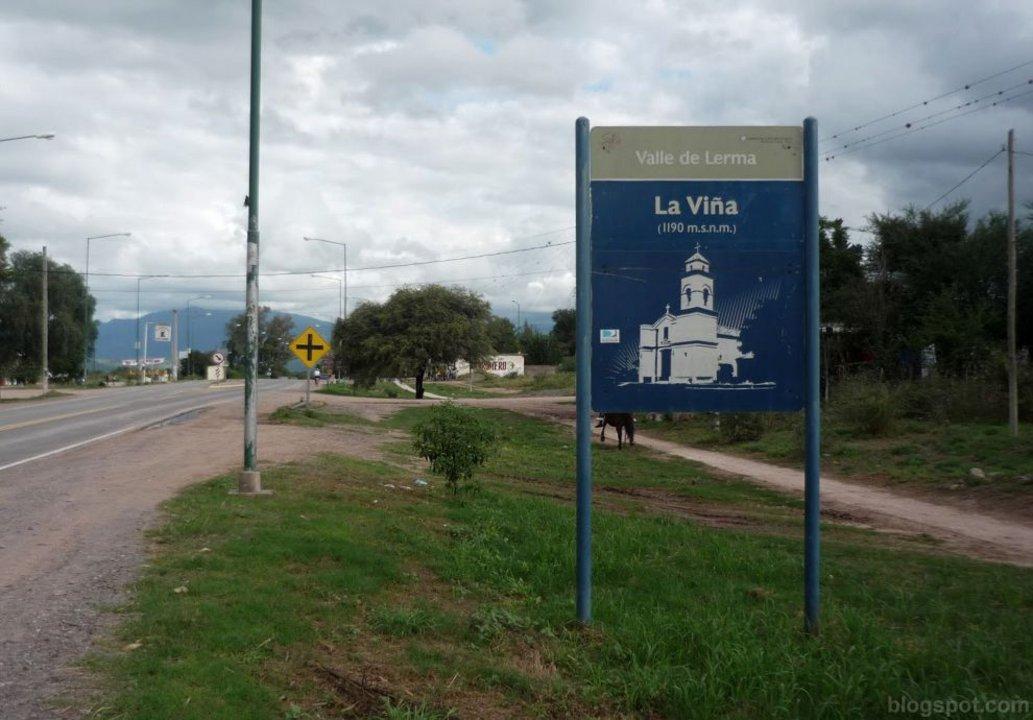 En La Viña no hubo datos del intendente entrante, el saliente ni de los concejales.