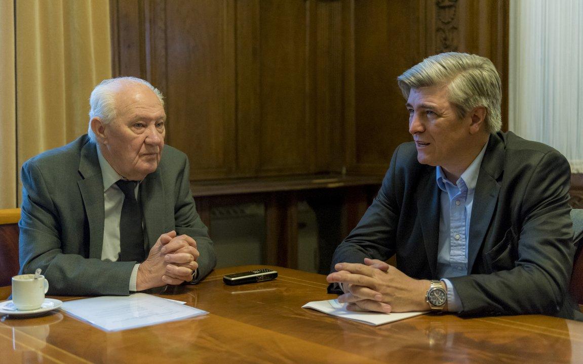 Hace unas semanas, Gowland fue recibido por el Presidente de la AGN, Oscar Lamberto.