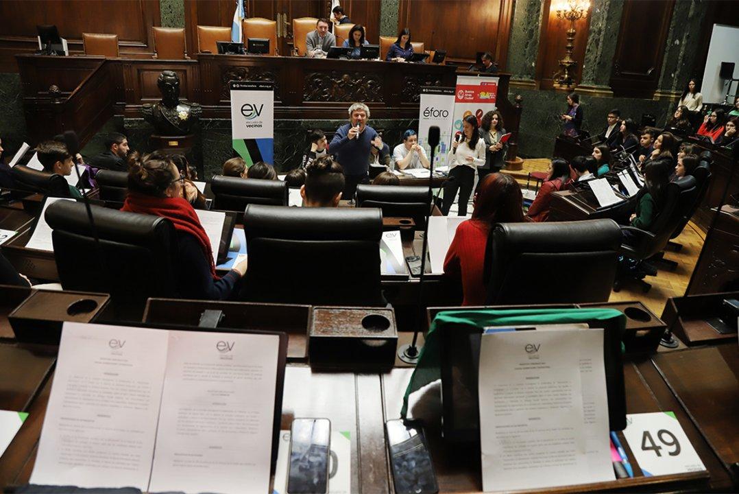Escuela de Vecinos fue declarado de interés por la Legislatura.