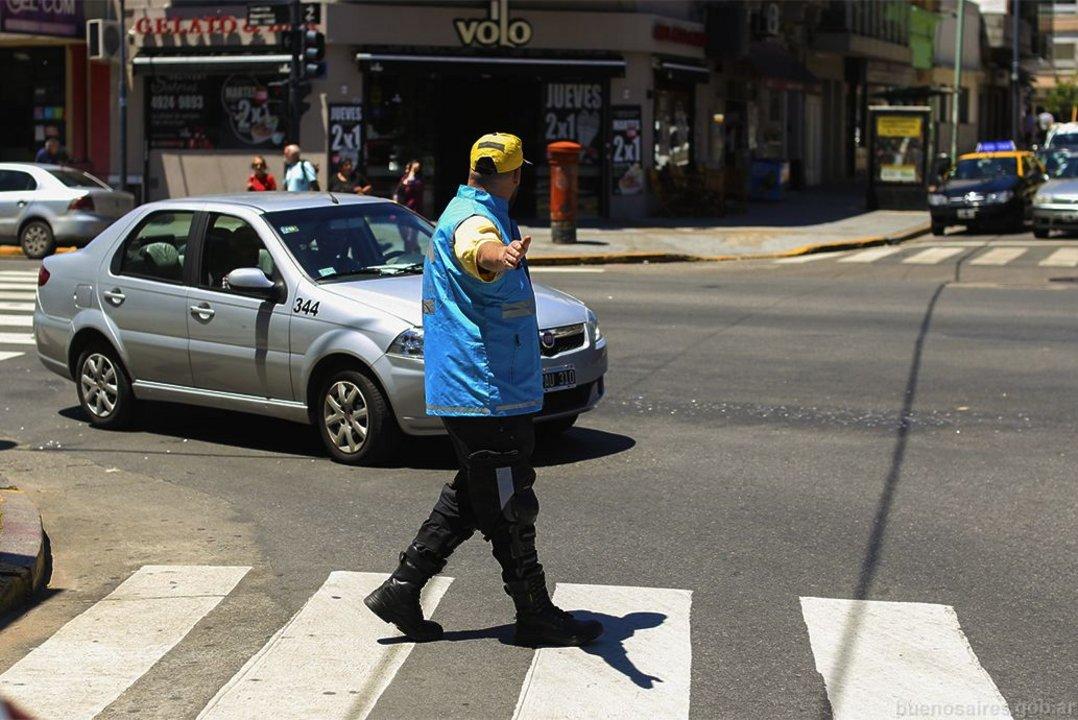 """Según el Gobierno porteño, el Cuerpo de Agentes """"es uno de los pilares centrales dentro del Plan de Seguridad Vial""""."""