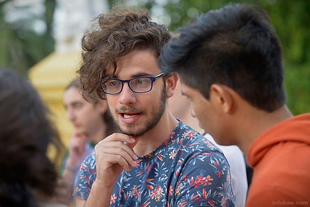 Eyal Weintraub forma parte de la agrupación Jóvenes por el Clima
