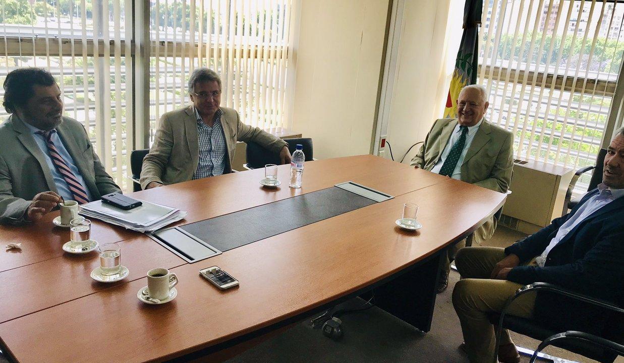 Diciembre 2018. Reunión de los titulares de los organismos de control de la Provincia de Buenos Aires