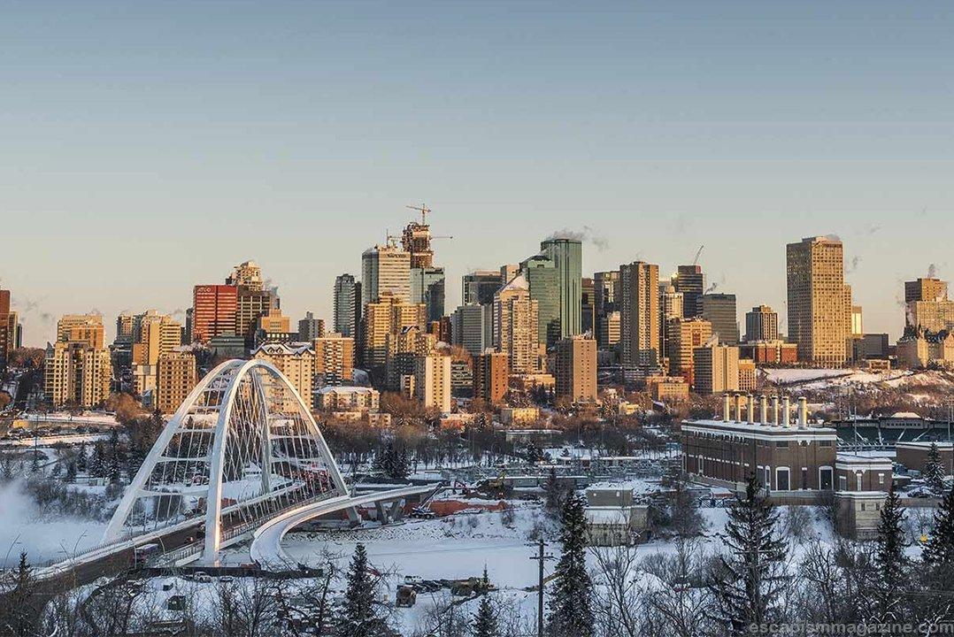 Ciudad de Edmonton, Canadá.