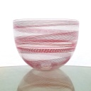 """Canestortion Series Bowl titled """"Candy Cane"""""""