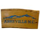 custom wooden Asheville sign