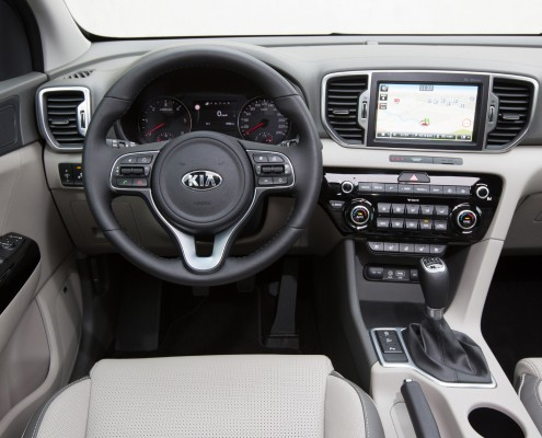 2016 Kia Sportage with JBL Signature Sound and Clari-Fi
