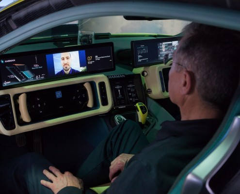 Collaboration announced at CES 2016 streamlines functionality between HARMAN Connected Car Systems and Microsoft Productivity Services