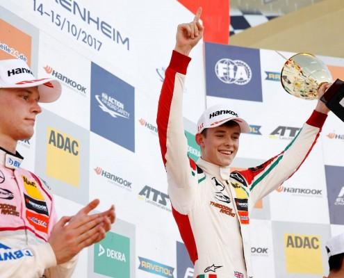 Callum win last race