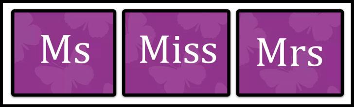 MsMissMrs CIC