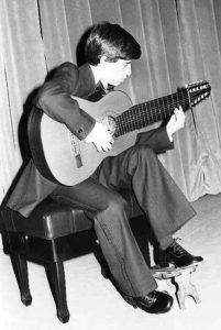 Recital de Ismael con 20 años. Foto: José Luis Pinós.