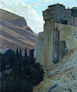 Casas Colgantes, de Rusiñol. 1918.