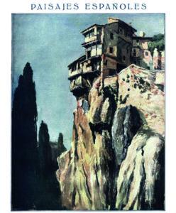 Casas Colgadas, publicado en La Esfera en 1920.