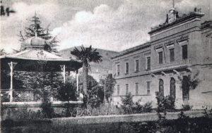 El Kiosco de la Música que existió en la Diputación.