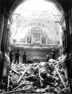 Catedral 1902 hundimiento de la torre de giraldos